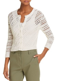 Theory Tamvi C Crochet Cardigan