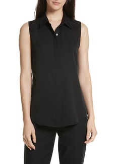 Theory 'Tanelis' Georgette Top
