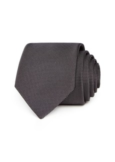 Theory Tanner Roadster Silk Skinny Tie