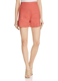 Theory Tarrytown High-Waist Shorts