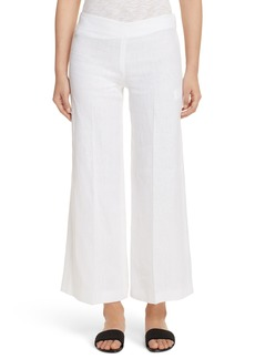 Theory Terena B Linen Wide Leg Pants