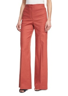Theory Terena High-Waist Wide-Leg Pants