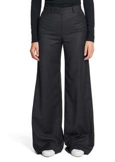 Theory Terena P Virgin Wool Wide Leg Pants