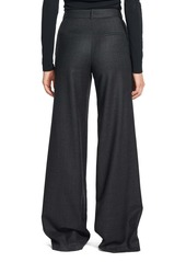 Theory Terena P Virgin Wool Wide Leg Pants