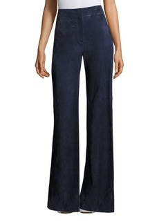 Theory Terena Wilmore Suede Pants