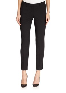 Theory Testra Edition Stretch Wool Cropped Pants