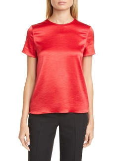 Theory Textured Satin Tee