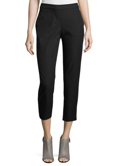 Theory Thaniel Approach Cropped Slim Pants  Black