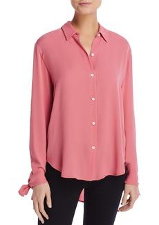 Theory The Cuff Silk Shirt