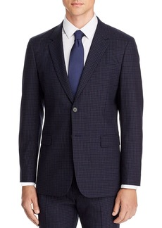Theory Chambers Small Check Slim Fit Suit Jacket
