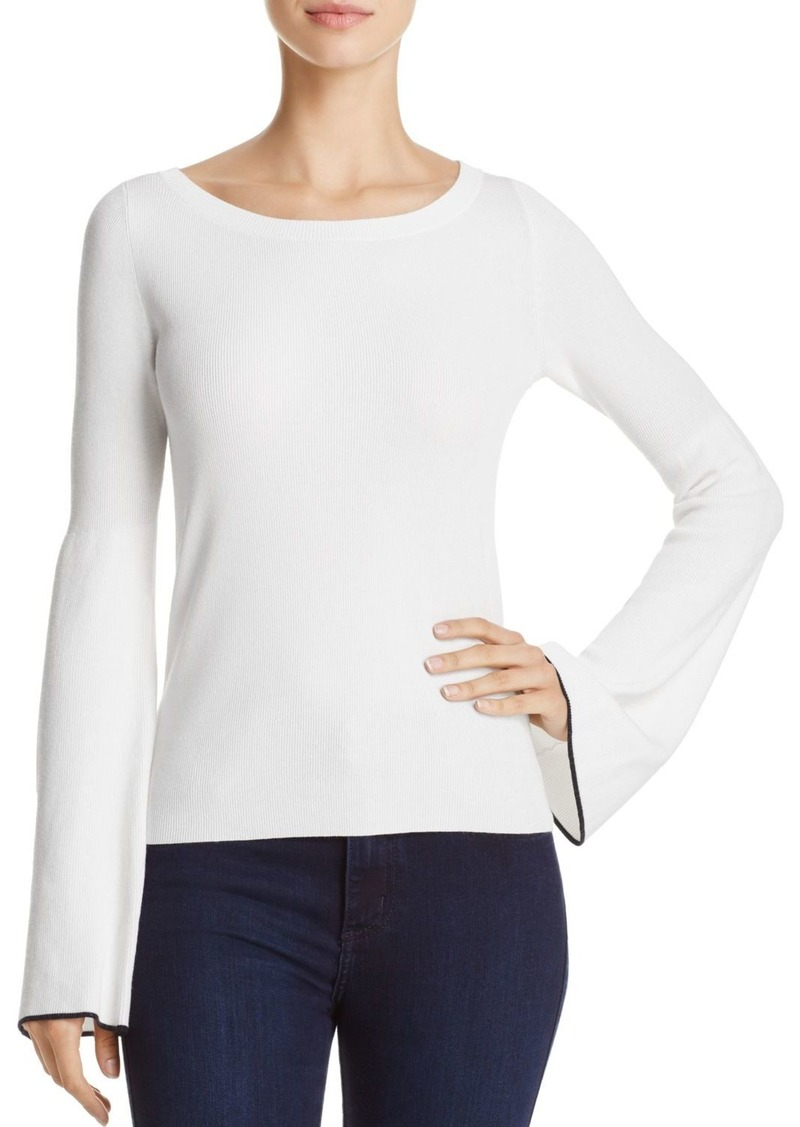 cfde9339c77 On Sale today! Theory Theory Tipped Bell Sleeve Sweater