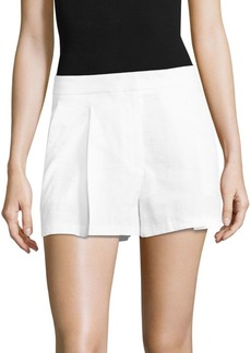 Theory Tohni Crunch Shorts