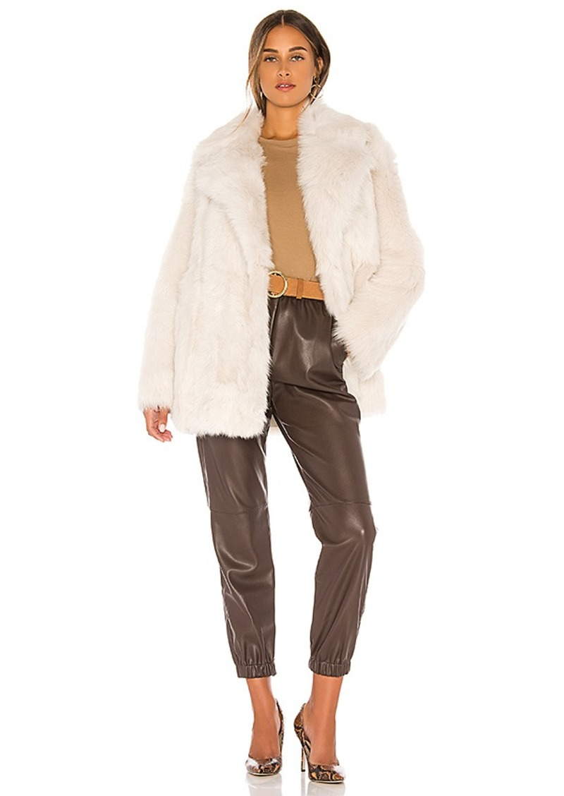 Theory Toscanca Fur Coat