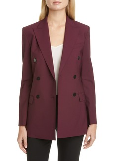 Theory Tracea Double Breasted Blazer