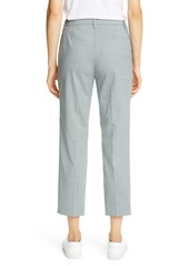 Theory Treeca 4 Wool Blend Crop Trousers