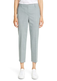 Theory Treeca 4 Wool Blend Crop Trousers
