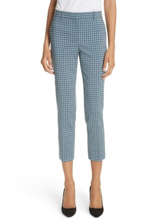 Theory Treeca Two Hexagonal Wool Blend Pants