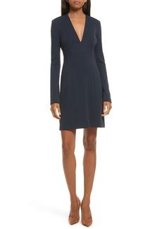 Theory Tuscon Knit A-Line Dress