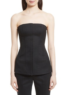 Theory Tuxedo Bustier Top
