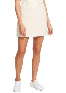 Theory Tweed A-Line Miniskirt