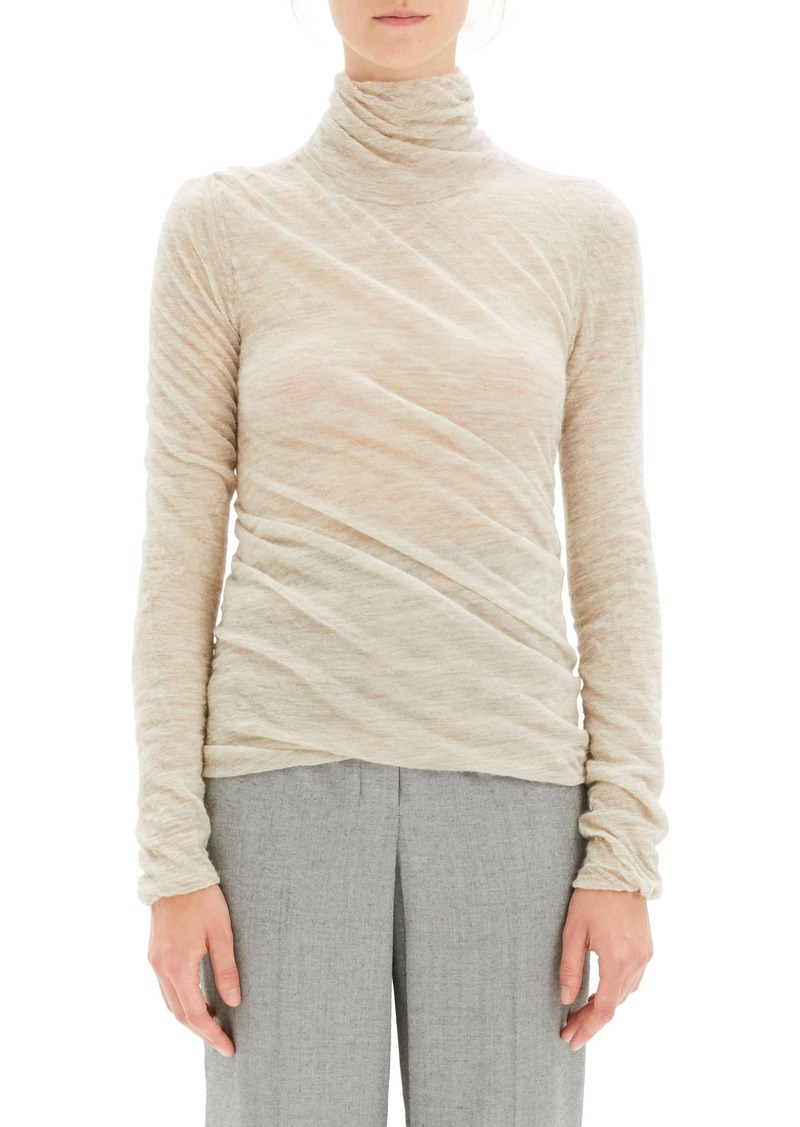 Theory Twist Turtleneck Sweater