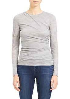 Theory Twist Wool Top