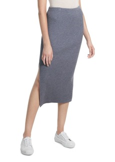 Theory Twisted Ribbed Skirt