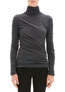 Theory Twisted Turtleneck Alpaca Sweater