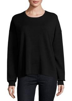 Theory Twylina Refine Flyaway-Back Sweater