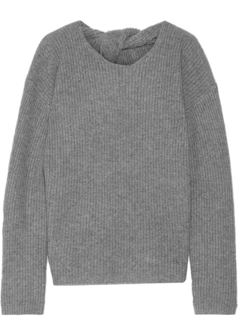 b3d0f7a557f Theory Theory Twylina split-back ribbed cashmere sweater | Sweaters