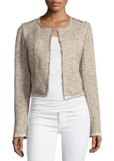 Theory Ualana Comprised Tweed Jacket