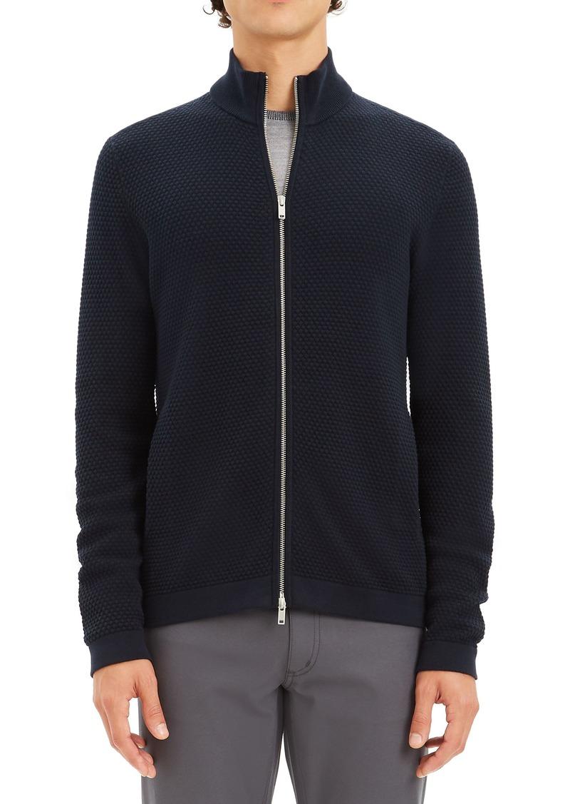 Theory Udeval Breach Slim Fit Zip Sweater
