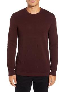 Theory Udeval Matelassé Crewneck Sweater