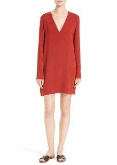 Theory Ulyssa Admiral Crepe Shift Dress