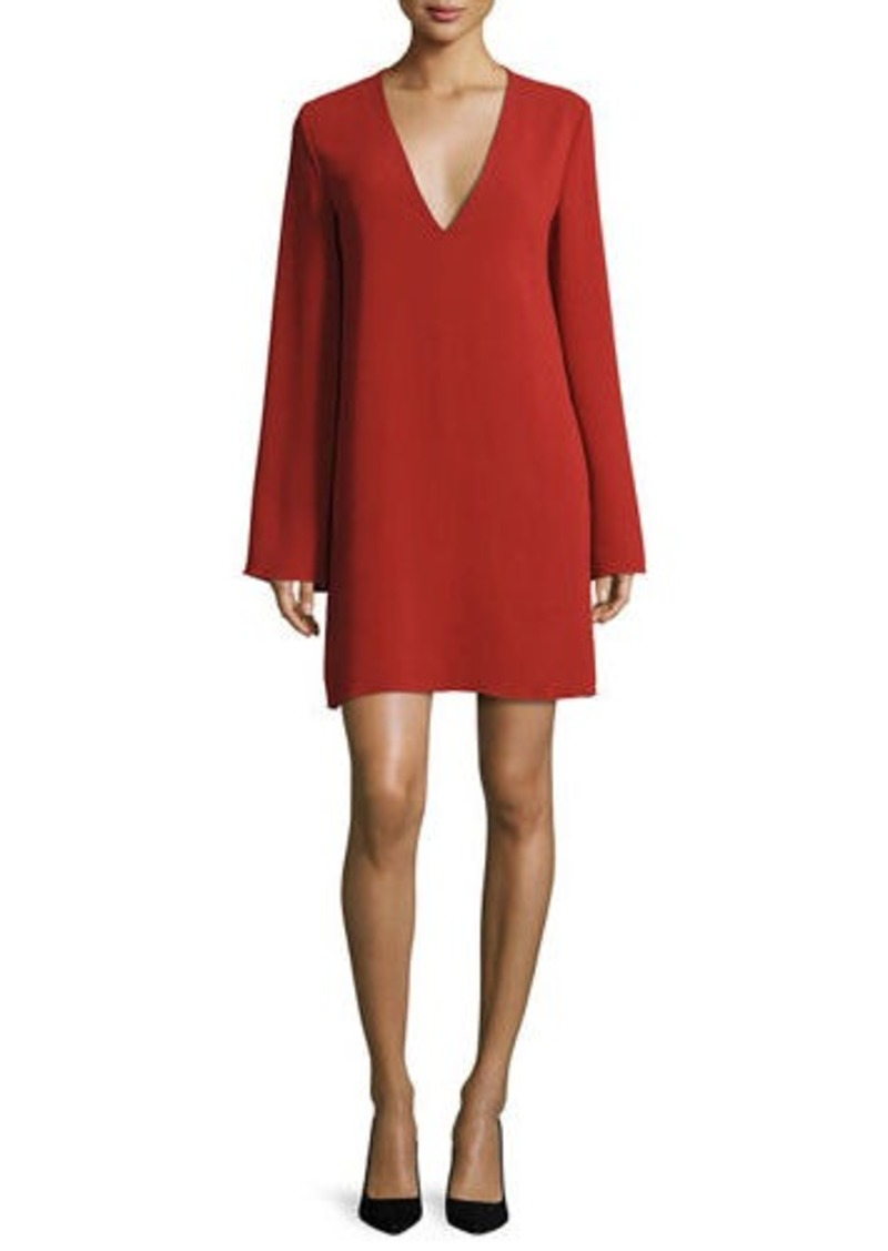 Recommend Online Theory v-neck shift dress Cheap Low Cost For Nice Cheap Online Cheap Sale Collections 1JgonGui