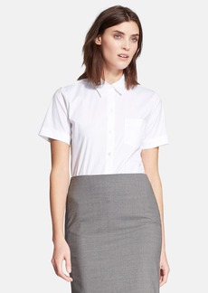Theory 'Uniform' Short Sleeve Blouse