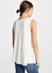 Theory V Neck A-Line Top
