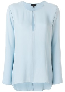 Theory v-neck blouse - Blue