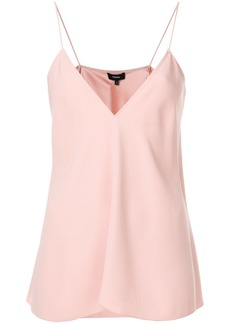 Theory v-neck camisole - Pink & Purple
