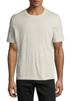 Theory Veloy Leden Luxe Feather Merino T-Shirt