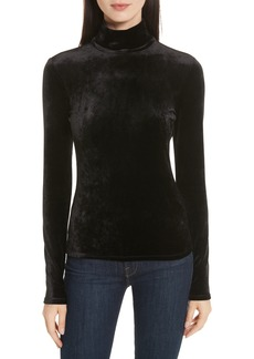 Theory Velvet Turtleneck Top