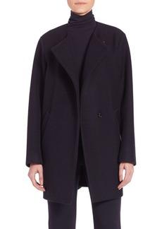 Theory Venizka Camden Wool Twill Coat