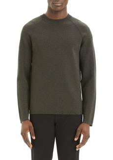 Theory Videla C Neopreno Regular Fit Crewneck Sweater
