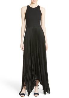 Theory Vinessi Belsay Rib Maxi Dress