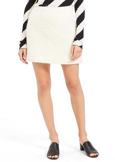 Theory Virgin Wool & Alpaca Miniskirt