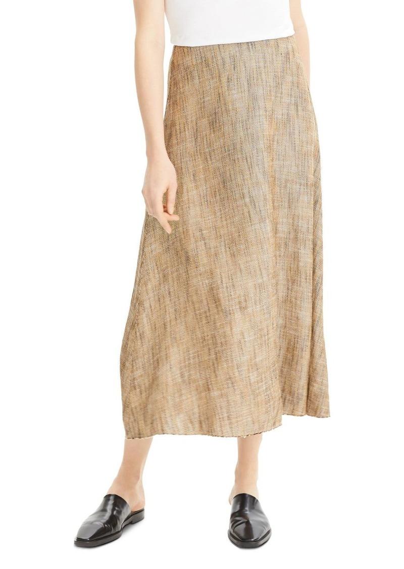 Theory Volume Midi Skirt