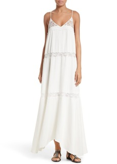 Theory Walela Crepe Maxi Dress