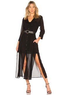 Theory Weekend Button Down Dress