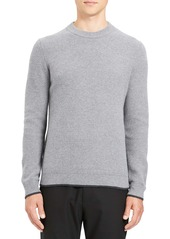 Theory Winlo Slim Fit Crewneck Wool & Cashmere Sweater