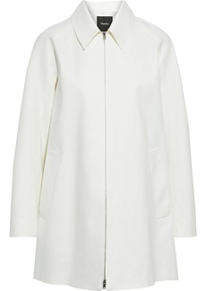 Theory Woman Caban Cotton-drill Jacket White